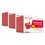 3 x SuperCranberry™  kanadské brusinky SUPER SILNÉ